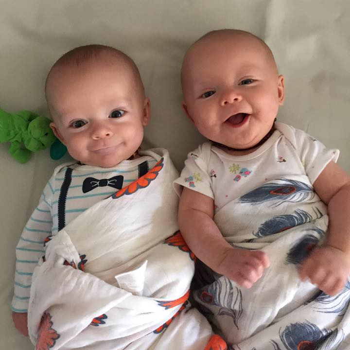 cute twins doulawise postpartum training
